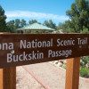 Arizona Trail Sign - Buckskin Passage