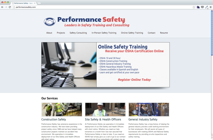 Performance Safety.com